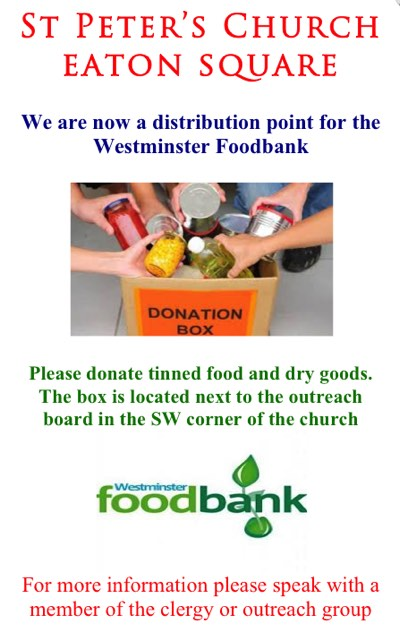 Westminster Outreach Food Bank